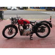 Gilera Arcore 500 Restaurada A Nuevo Año 1938