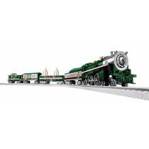 Tren Lionel Silver Bells Locomotor Vagon Vias Control Juguet