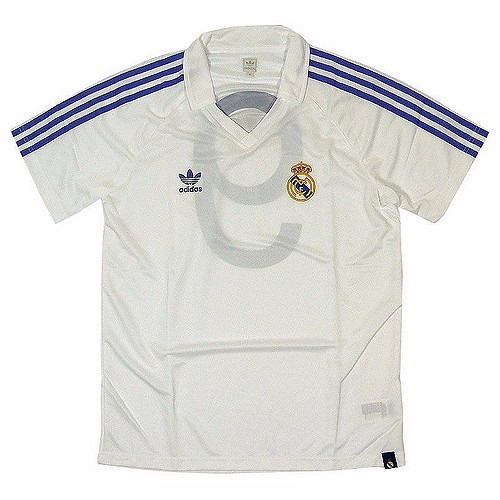 1648d3553f7 Camisa Real Madrid adidas Originals Retrô Anos 80 Exclusiva - R  229 ...