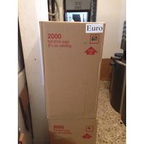 Vaso Vending Modelo Euro En Caja De 2000 De 8oz