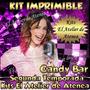 Kit Imprimible Candy Bar Violetta 2° Temporada - Golosinas