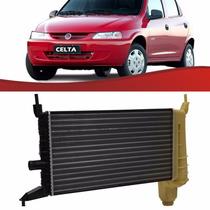 Radiador Celta 2000 Até 2005 S/ Ar C/ar Nota Fiscal 2579