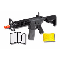 Marcadora Airsoft Electrica Bbs Force M4 Cqb 6mm Gotcha Xtre
