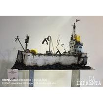 Escultura Barco Carguero Rosario