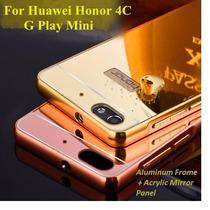 Funda Huawei G Play Mini - Mate 8 Bumper Aluminio + Mica