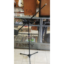 Soporte De Microfono Jirafa Pie Rmv 2 Tramos Karaoke