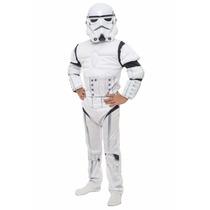 Disfraz Stormtrooper Deluxe Star Wars Original Excelente