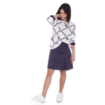 Sweater Mujer Portsaid Jacquard Diagonales Friedrich