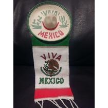 Sombrero Charro Septiembre Mexico Adorno Broche