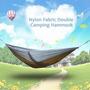 Lixada Portable Outdoor Viaje Camping Dos Personas Hamaca