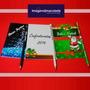 10 Bloquinhos Personalizados10x13,8cm E Lápis Personalizado!