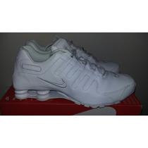Tenis Nike Shox Nz Puel Blancos 12us 30cm 10mx