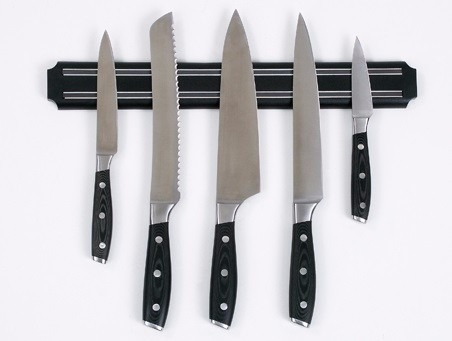 Soporte magnetico para cuchillos cocina porta cuchillos - Barra iman para cuchillos ...