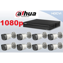 Kit Dahua 8 Camaras 1080p Alta Resolucion Hdcvi Cctv P2p
