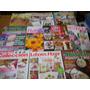 Lote X10 Revistas Bordado Punto Cruz Noruego Español Cintas