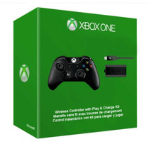 Control Inalámbrico Xbox One Con Kit Carga Y Juega Remate