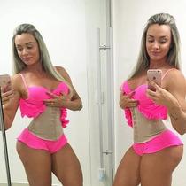 Cinta Modeladora De Cintura Juju Gracyane Barbosa Feminina