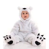 Fantasia Urso Polar - Coleção Mamíferos- Bichinhos Parmalat
