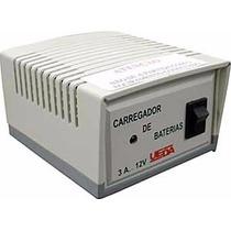 Carregador De Bateria Ueda Doméstico 12v/3a 9027 Bivolt