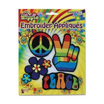 Insignias Florales Poder Para Disfraz De Hippie De Los 60