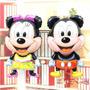 Pack De 4 Globos Metalizados Mickey Y Minnie Bebes