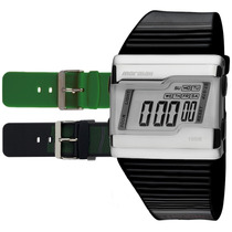 Relógio Mormaii Digital Esportivo Troca Pulseiras Fz/n8p