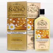 Kit Shampoo E Condicionador Clareador Tio Nacho 415ml