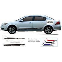 Kit Acessórios Faixa Laterais Vectra Sport Chevrolet Adesivo