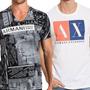 Armani Exchange Camisetas 100% Original Frete Gratis