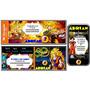 Kit Imprimible Dragon Ball Z: Invitac, Deco, Banderin, Torta