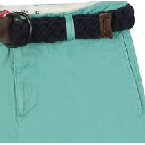 Bermuda Cargo Verde Masculina Marca Pool Jeans Tamanho 46