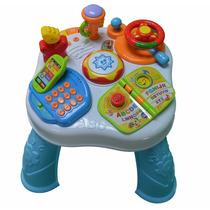 Mesa Didactica Infantil Bebe Juguete Musical Baby Shopping