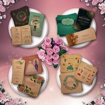 Invitaciones + Tarjeta + Sobre   Casamientos   Vintage Kraft