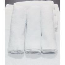 Kit 12 Toalhas Manicure Para Salão Branca -