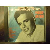 Enrique Guzman Cd 15 Autenticos Exitos Serie De Coleccion