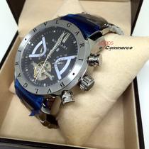 Relógio Bulgari Iron Man Aço Automático Produto Original R