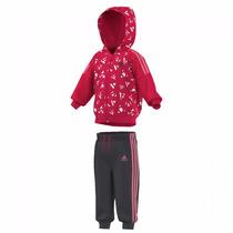 Conjunto Pants Con Sudadera Training Para Bebe Adidas Aj7365