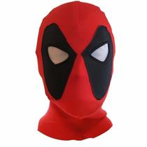 Deadpool Dead Poll Mascara Touca Cosplay Realista Heroi