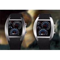 Relógio Masculino Esportivo Led / Digital Painel Veicular