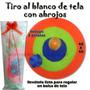 Tiro Al Blanco De Tela Con Abrojo - Seguro Y Divertido!!