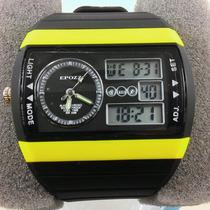 Relógio Epozz Mod 1309 - Ganhe 1 Porta-latas !!!!!