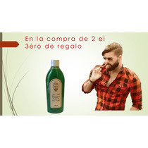 Shampoo Natural De Bergamota Barba Y Bigote 1 Frasco 250 Ml
