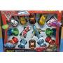 Set De Vehiculos Cars - Autos Y Aviones X14 - Tuni 399