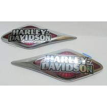Emblemas Do Tanque Harley Davidson Originais E Novos