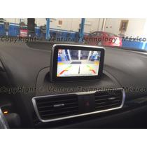 Adaptador De Cámara Reversa Para Mazda Sedan 3 Año 2015