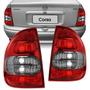 Par De Faros Chevrolet Corsa 4 Puertas 99 Al 2010 Traseros