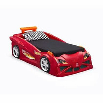 Camita Forma Carro Hot Wheels Cama Individual