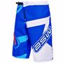 Bermuda Asw Extreme Azul Branco Dh Freeride Motocross Tam M