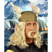 Vikingo Traje - Para Hombre Rubio Guerrero Vestido De Lujo D