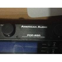 Regleta Rack Dj American Audio De 8 Tomas